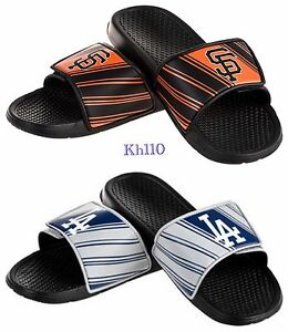MLB Baseball Team Sport Shower Slide Sandals