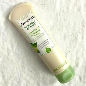 Aveeno Positively Radiant 60 Second In Shower Facial 5 OZ