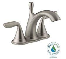 "KOHLER Willamette 4"" Centerset 2-Handle Bathroom Faucet ~ Vibrant Brushed Nickel"