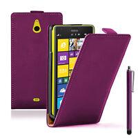 Etui Coque Housse PU Cuir Véritable Flip Cover Nokia Lumia 1320/ RM-994/ RM-995