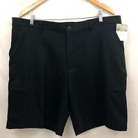 Champion C9 Golf Shorts Mens Black Flat Front Stretch Athletic New
