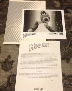 MEGA MAN RARE Capcom Atlantic PRESS KIT PHOTO 1996 Soundtrack Video Game