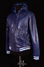 Cappotti e giacche da uomo bomber , harrington blu Taglia XXXL