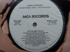 John Sharra-Let 's get to it