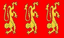 3'x5' King Richard I Flag UK British Royal Coat Of Arms Monarchy England New 3x5