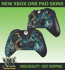 XBOX ONE CONTROLLER TAPPETINO ADESIVO WATCH DOGS DEDSEC 001 PROTEZIONE X2