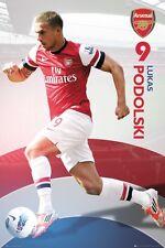 Poster ARSENAL LONDON (Gunners) - Lukas Podolski No 9 NEU!!  57866