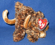 TY GIGANTO the WOOLY MAMMOTH BEANIE BABY - MINT with MINT TAGS - RETIRED