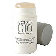 Acqua Di Gio  by Giorgio Armani 2.5 oz /75g Deodorant for men without box