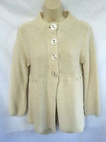 Blockout Australia Womens Size Large Sweater Cream Colored Baby Doll Style