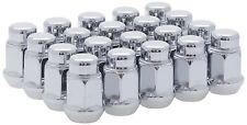 White Knight 1704S-20AM 1/2-Inch-20 Thread Size Bulge Acorn Lug Nut, Chrome, 20-