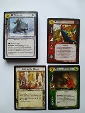 A game of thrones AGOT ccg A Throne of Blades 3 rares and partial uncommon set