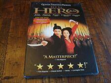 Hero Dvd New Sealed w/Sleeve Jet Li Zhang Ziyi Quentin Tarantino Kung Fu Action
