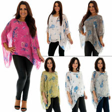 Tunic Casual 100% Silk Tops & Blouses for Women