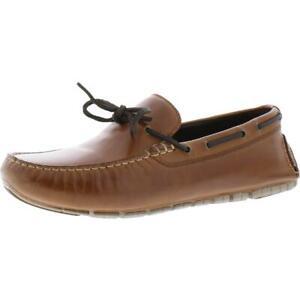 Cole Haan Mens ZeroGrand Driver Tan Boat Shoes Shoes 10 Medium (D) BHFO 2712