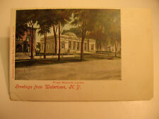 1905 era Greetings from Watertown, N.Y. Postcard