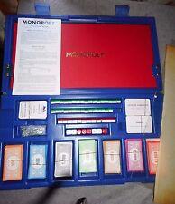 MOMOPOLY MALLETTE DE LUX 1970  MIRO company pions métal RARE