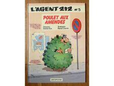 L'agent 212 n°5 Poulet aux amendes, Kox et Cauvin, Dupuis EO 1985