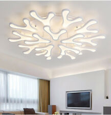 Acrylic Ceiling Light Home Lights Fixtures Modern LED Antler Shade Chandeliers