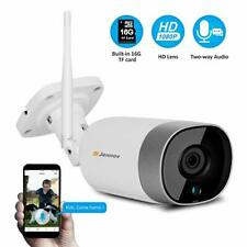Wireless Camera 1080P Wifi Outdoor Security IP CameraTwo-Way Audio Night Vision