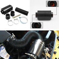 70mm Racing Air Filter Carbon Fiber Cold Air Intake System Improve Power Engine