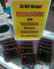 Verizon Mifi 4G Jetpack Unlimited LTE Data Mobile Hotspot Page Plus 55 Wifi