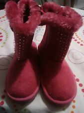 Sparkly Pink Girl Boots Toddler Size 7