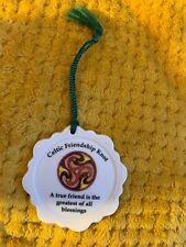 Donegal Irish Parian China Celtic Friendship Knot