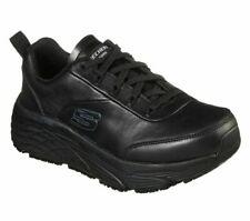 Skechers 108016 Work Elite SR Shoe for Women, Size US 8.5 - Black