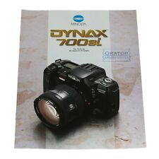 "Minolta Prospekt/Katalog ""Dynax 700si""  -  vom Händler"