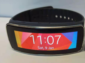 Samsung Gear Fit Classic SM-R350 Smart watch Activity Tracker Black UK Unlocked