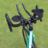 Bicycle Arm Rest Handlebar TT Bar Triathlon Road Bike Frame Mount Aerobars