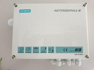 SIEMENS KNX / EIB Wetterzentrale 4F 5WG1 257-3AB11 Wetterstation mit Sensoren