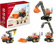Bo-Toys 4 in 1 Take Apart Toys Construction Trucks Building Blocks , 25 Pcs