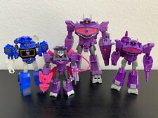 Transformers Cyberverse - Shockwave & Soundwave Lot (Loose, 100% Complete)