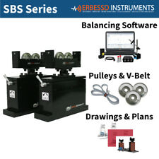 Balancing Machine 1000 Kg Soft Bearing Suspension Erbessd Instruments Sbs1000