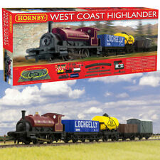 HORNBY Set R1157 West Coast Highlander Train Set (Includes Buildings)