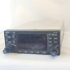 GARMIN GNS 430W W/ tray, backplate, P/N 011-01060-40
