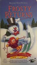 Frosty Returns(VHS,1993)CHRISTMAS CLASSICS SERIES-TESTED-RARE VINTAGE-SHIP N 24H