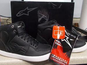 NOS Alpine Star Anaheim Shoe Mens 8 Black 3405-1003
