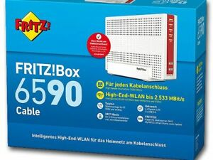 AVM FRITZ!Box 6590 Cable Wireless Router Kabel (20002781) OVP ohne Branding 🔝