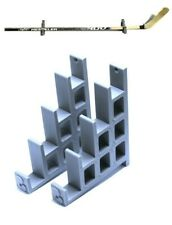 Ice Hockey Stick Holder Hanger Wall Mount Rack Display Hook Storage Stand Shelf