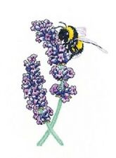 Heritage Crafts - Lavender Bee by Peter Underhill Cross-stitch Pattern