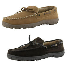 Clarks Mens Suede Moccasin Slipper Shoes