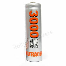 1 Ni-MH AA Size 3000mAh 1.2V rechargeable battery Silver UltraCell