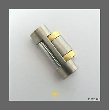 ☆ BREITLING 18MM WIDTH TWO-TONE TITANIUM SIZING LINK FOR «AEROSPACE» BRACELET ☆