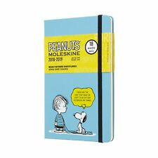 Moleskine 2018/19 18 Months 'Peanuts' Ltd Edition Weekly Notebook Diary 21x14cm
