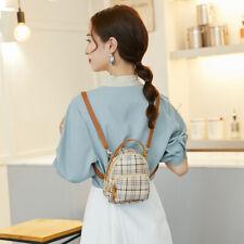 Women Mini Backpack Beach Bag Travel Leather Handbag Small Rucksack Shoulder Bag
