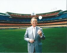 "Vin Scully - 8"" x 10"" Photo - Dodger Stadium - Los Angeles Broadcaster"