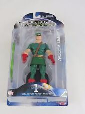 Green Arrow figure HISTORY OF THE DC UNIVERSE Series 1 DC Direct 2009 New Crisis
